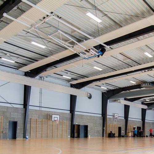 Leuchte für Aufbau / LED / rechteckig / Stahlblech