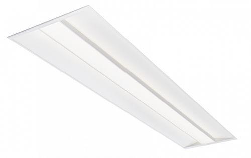 Leuchte für Deckeneinbau / LED / linear / Stahlblech