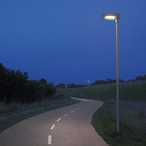 Straßenlaterne / modern / Aluminium / Aluminiumguss
