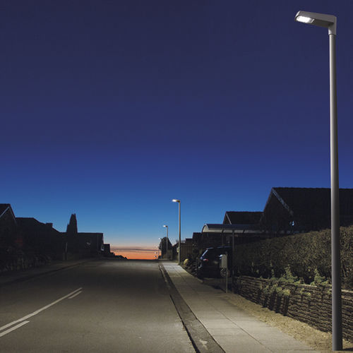 Straßenlaterne / modern / Aluminiumguss / LED