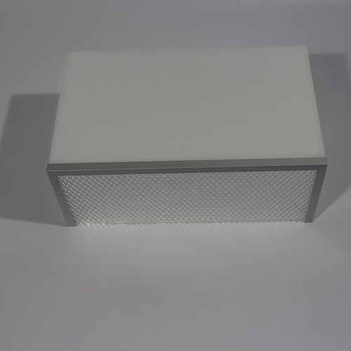 moderne Wandleuchte / Aluminium / Stoff / Plexiglas®