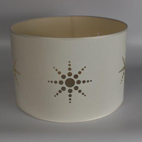 moderner Lampenschirm / Stoff / handgefertigt / flammenhemmend