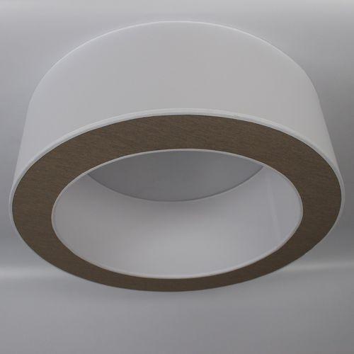 moderne Deckenleuchte / rund / Stoff / LED