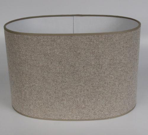 klassischer Lampenschirm / Wolle