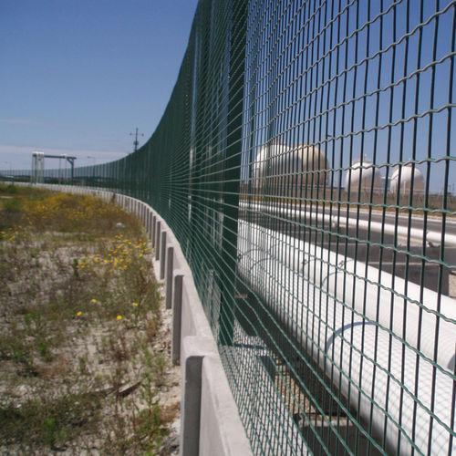 Stahlbetonmauer / Fertigbau