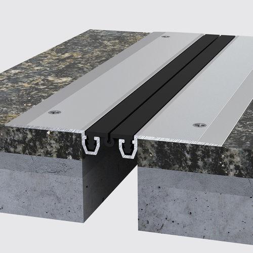 Dehnungsfuge / anodisiertes Aluminium