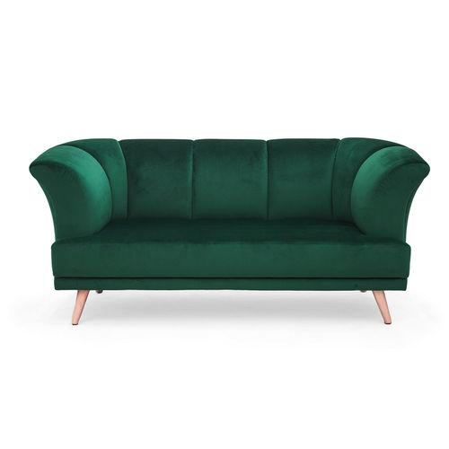 klassisches Sofa / Samt / 2 Plätze / nach Maß