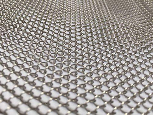 Gewobenes Metall / für Trennwandsysteme