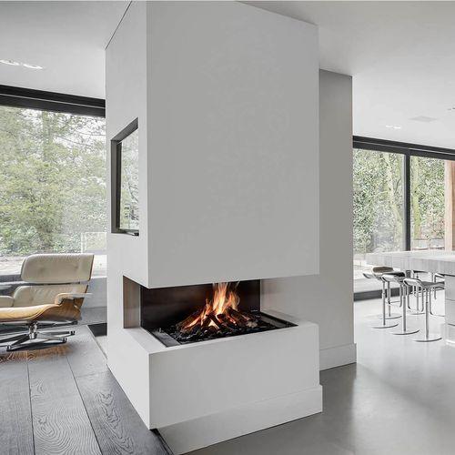 Gaskamin / modern / offene Feuerstelle / Zentral
