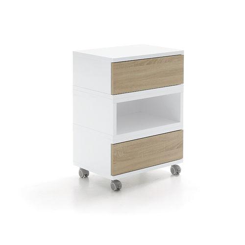 Pflegewagen / für Schönheitssalon / für Frisörsalon / Holz