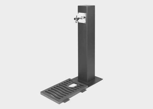 Außenbereich-Trinkbrunnen / Stahl / nicht angegeben