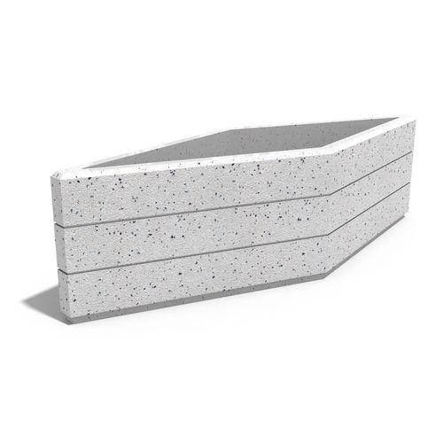 Faserbeton-Pflanzkübel