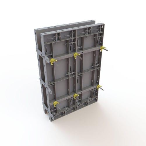 Modulschalung / Rahmen / Stahl / Sperrholz