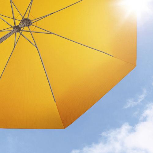 Stoff für Sonnenschutz / uni / Polyester / für den Außenbereich