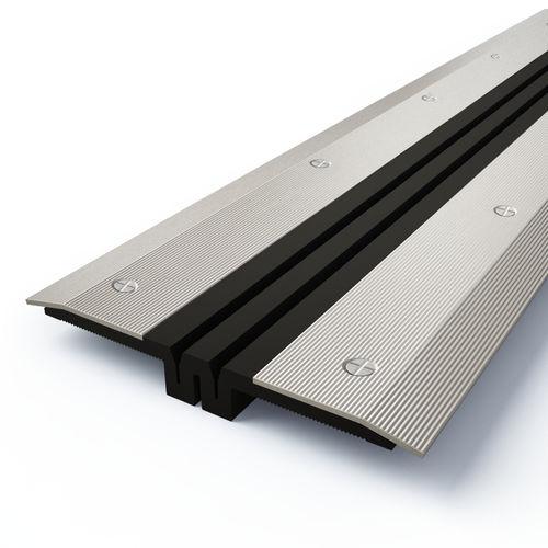 Nitril-Dehnungsfuge / Aluminium / Stahl / Edelstahl