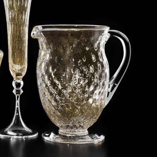 Karaffe / geblasenes Glas