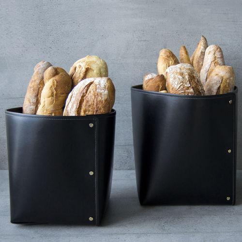 Leder-Brotkasten / für Restaurants