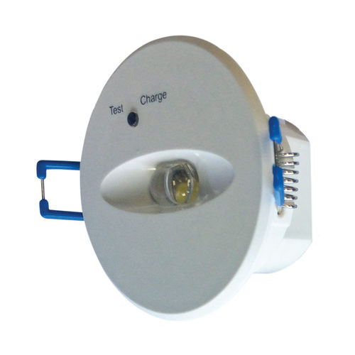 Einbau-Notbeleuchtung / rund / LED / Polycarbonat