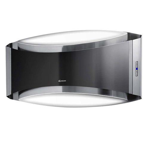 wandmontierter Dunstabzug / mit integrierter Beleuchtung