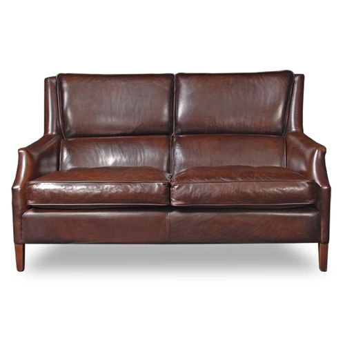 klassisches Sofa / Leder / Contract / für Hotels