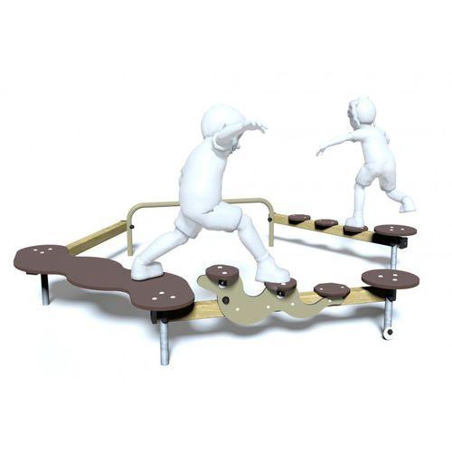 Trimm-Dich-Pfad / für Spielplätze / Schrittschaltung