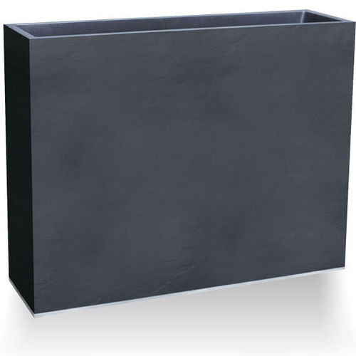Kunststoff-Pflanzkübel / rechteckig / hoch / modern