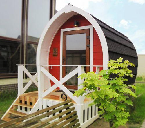 Fertigbau-Mikrohaus / modern / aus Verbundwerkstoff / Öko