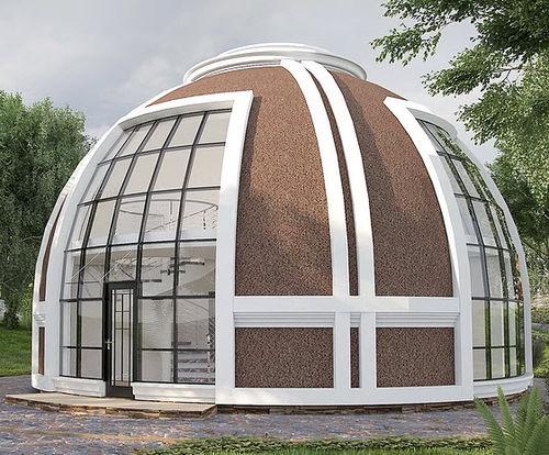 Fertigbauhaus / individuell / modern / Glas