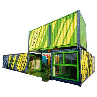 Baucontainer für industrielle Nutzung / für Lagerung / Modulare