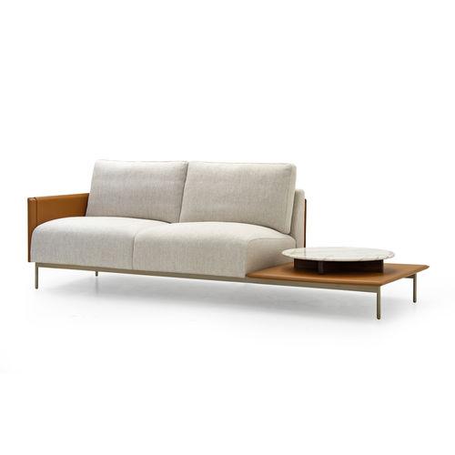 modernes Sofa / Stoff / Leder / für Hotels
