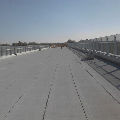 Abdichtungsbahn für Brückenbau / aus SBS-Bitumen / Polyester / Copolymer