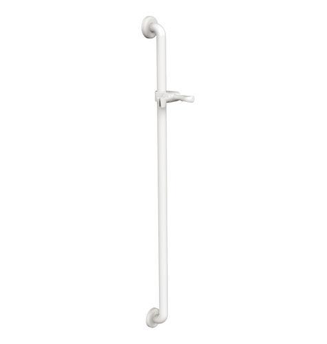 Aluminium-Stützgriff / gerade / wandmontiert / Objektmöbel