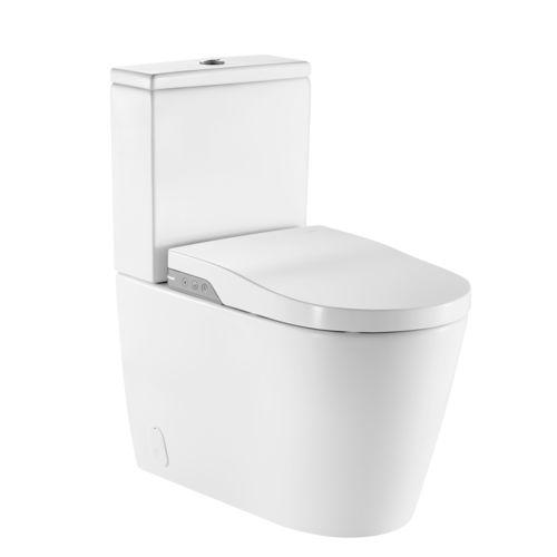 freistehendes WC / smart / Porzellan