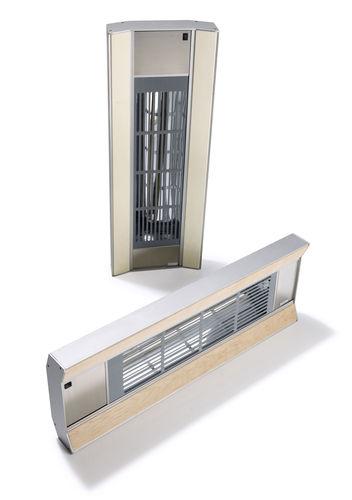 wandmontierter Heizstrahler / elektrisch / Objektmöbel / für Sauna