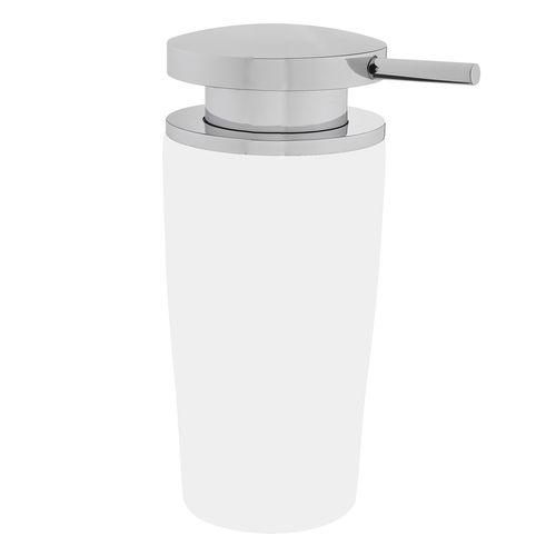 Objektmöbel-Seifenspender / wandmontiert / aus Chrom / manuell