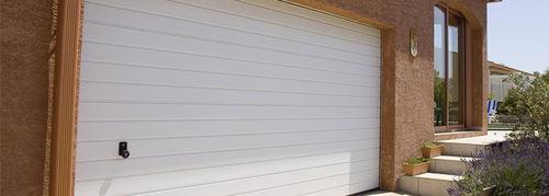 Kipptor für Garagen / Aluminium / automatisch