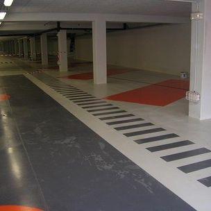 Schutzfarbe / für Fußböden / für Industrieanwendung / für Beton