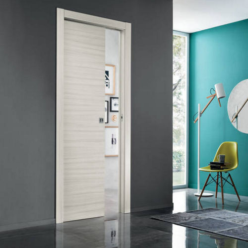 Innenbereich-Tür / Schiebe / Holz / Doppelflügel