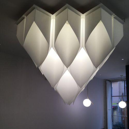 moderne Deckenleuchte / Papier / LED