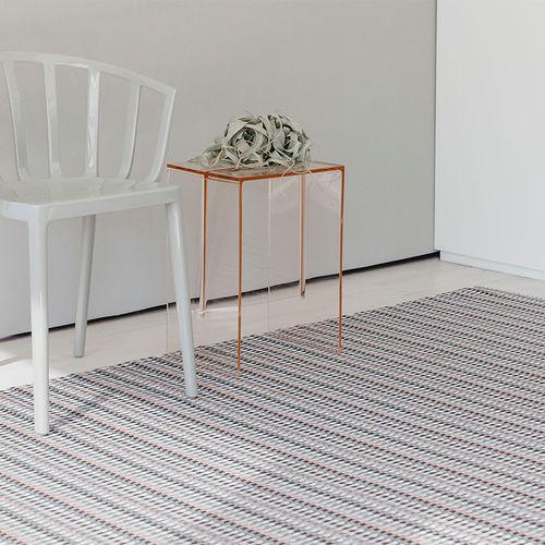 moderner Teppich / Karomuster / Synthetikfaser / rechteckig