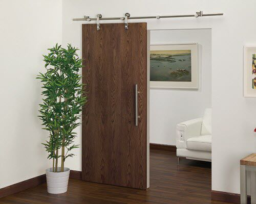 Innenbereich-Tür / Schiebe / Holz / Dekor