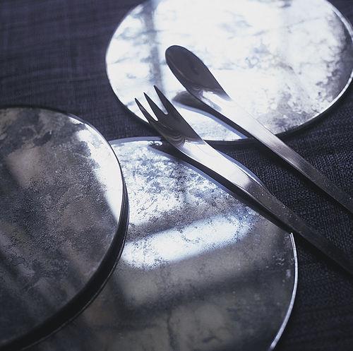 Glas-Tischset