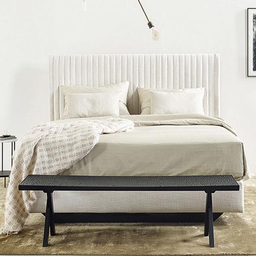 Kopfteil für Doppelbetten / modern / Stoff / Polster
