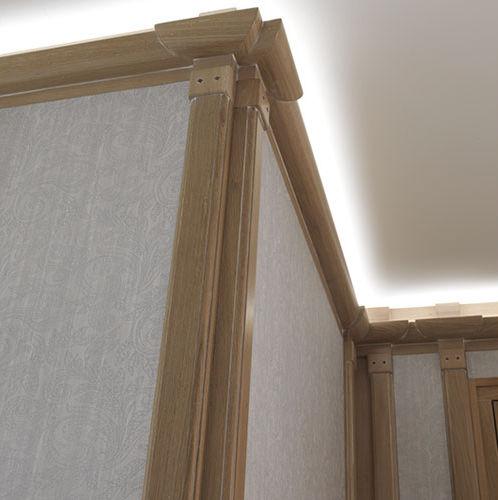 Bambusdekorplatte / wandmontiert / nach Maß