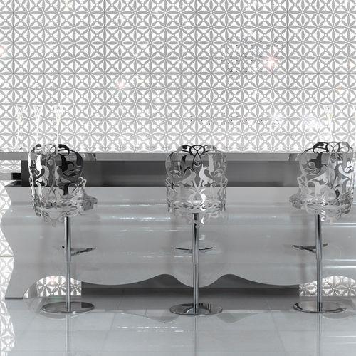 Bartheke / für Küchen / Glas / Holz
