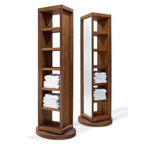 Säulenschrank für Badezimmer / modern / mit Spiegel