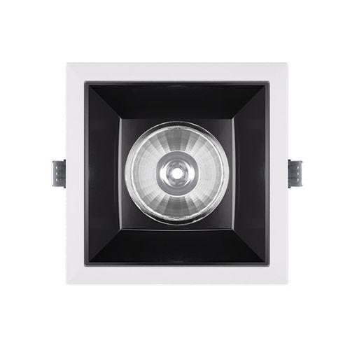 Einbaudownlight / LED / quadratisch / Aluminiumguss