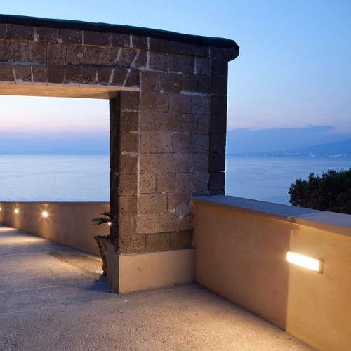 moderne Wandleuchte / Außenbereich / Aluminium / LED