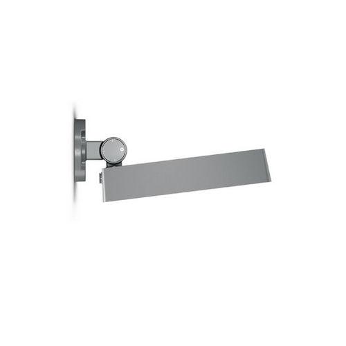 moderne Wandleuchte / Außenbereich / Aluminiumguss / Vorderseite aus Hartglas