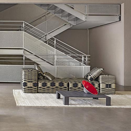 Möbelstoff / mit geometrischem Muster / Trevira CS® / Jacquard